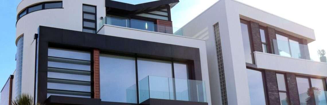 Modern ház építés