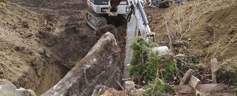 törmelék feldolgozása videó