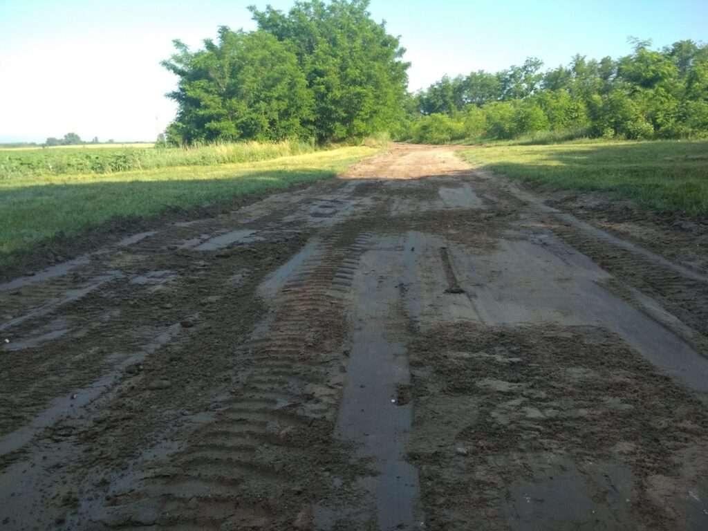 földút építés
